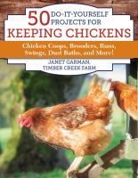 50 Projects for Keeping Chickens book cover