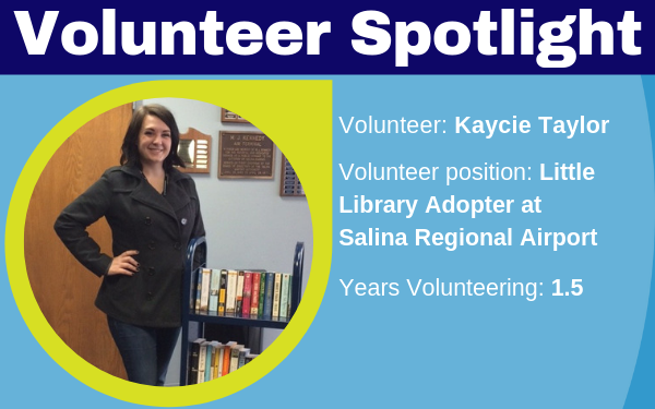 Volunteer Kaycie Taylor