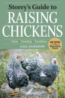 Raising Chickens, care and feeding book cover