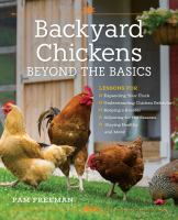 Backyard Chickens book cover