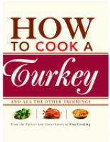 How to Cook a Turkey book cover