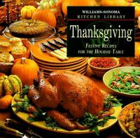 Thanksgiving book cover