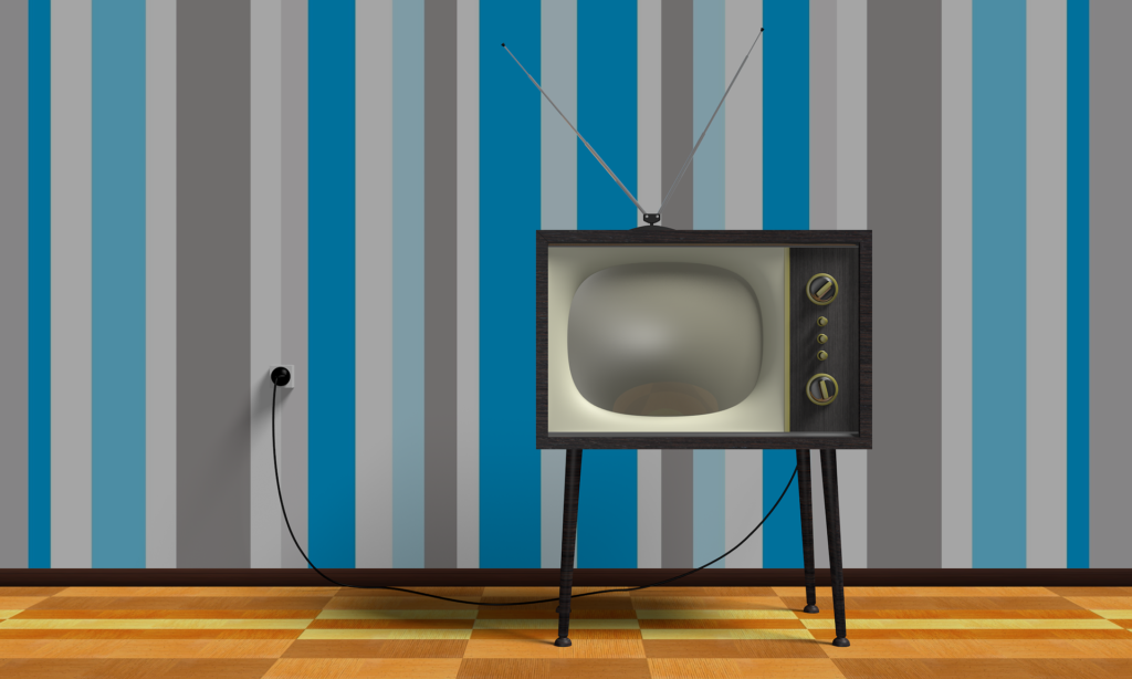Old-fashion TV