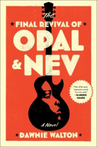 book cover showing a face in a guitar with book title above